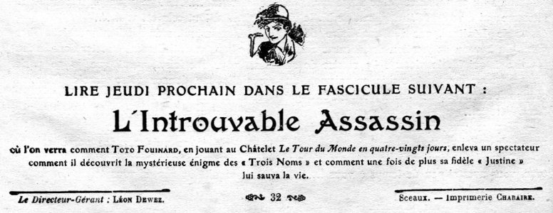 Toto Fouinard - LIntrouvable Assassin (French Edition)